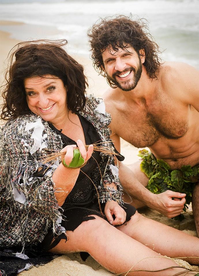 Grace Gianoukas estrela spin-off que mostra como Teodora sobreviveu de acidente aéreo (Foto: João Miguel Jr/Globo)