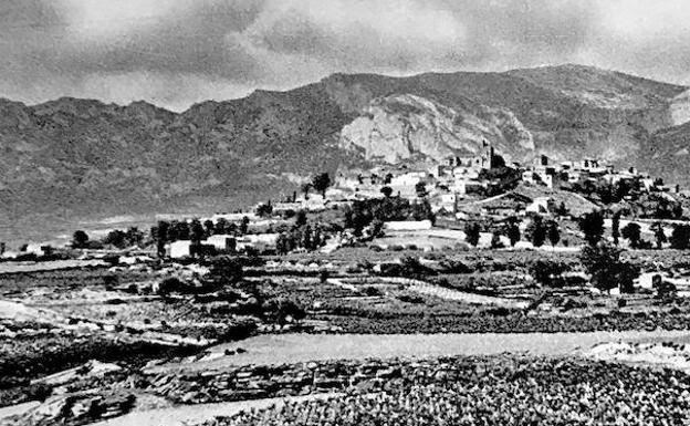 Panorámica de Laguardia en los años 40./El Correo