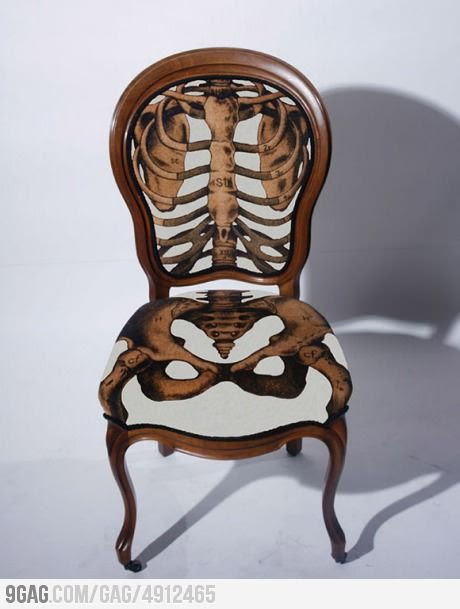 Anatomically Correct chair!