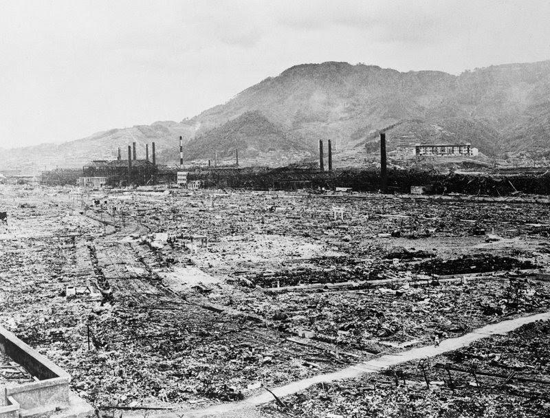 Image result for hiroshima abomb hiroshima damage