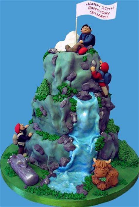 Best 25  Mountain cake ideas on Pinterest   Forest cake