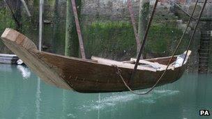 Bronze Age boat replica