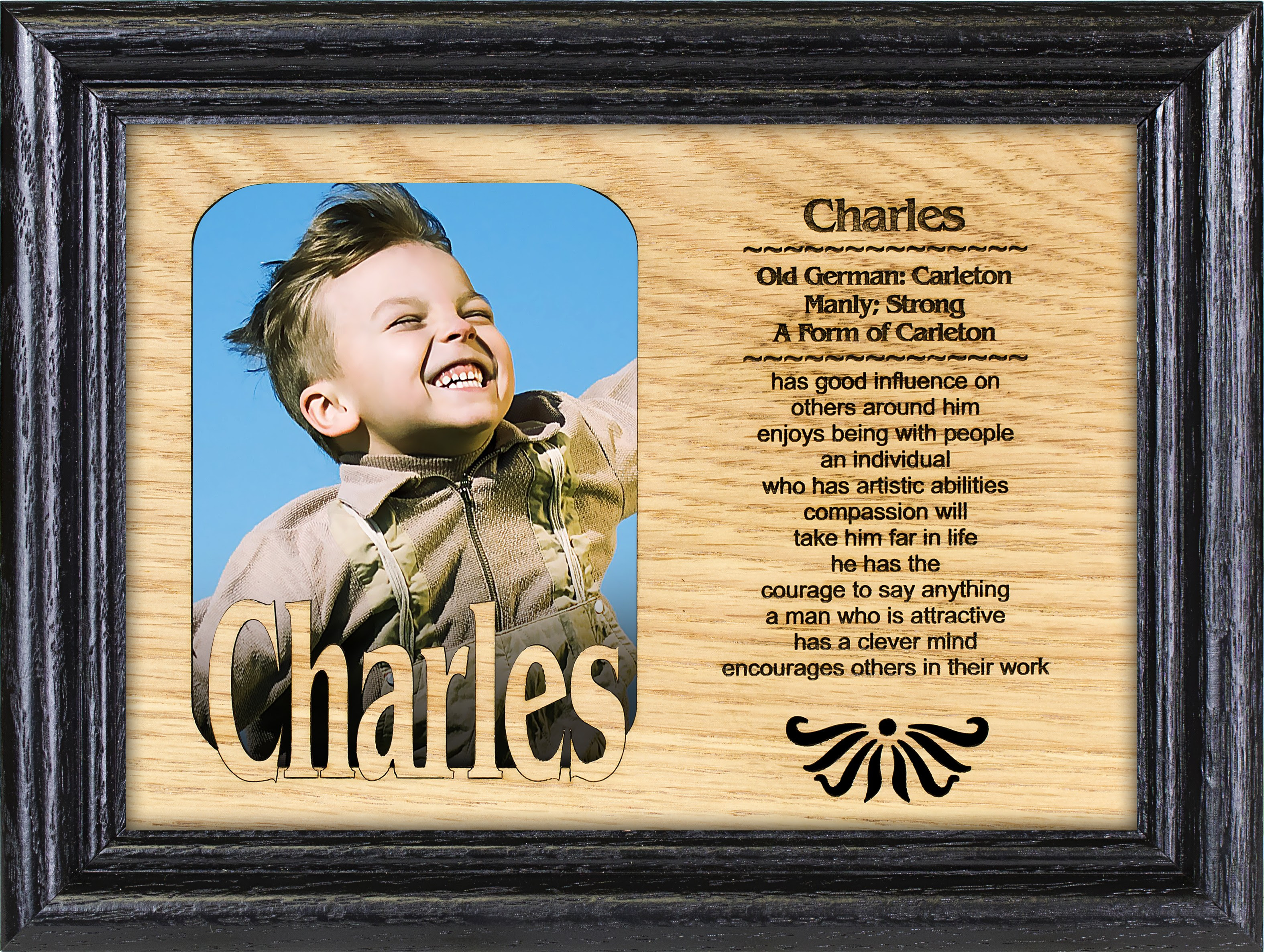 One Name Wone Picture Name Picture Frames