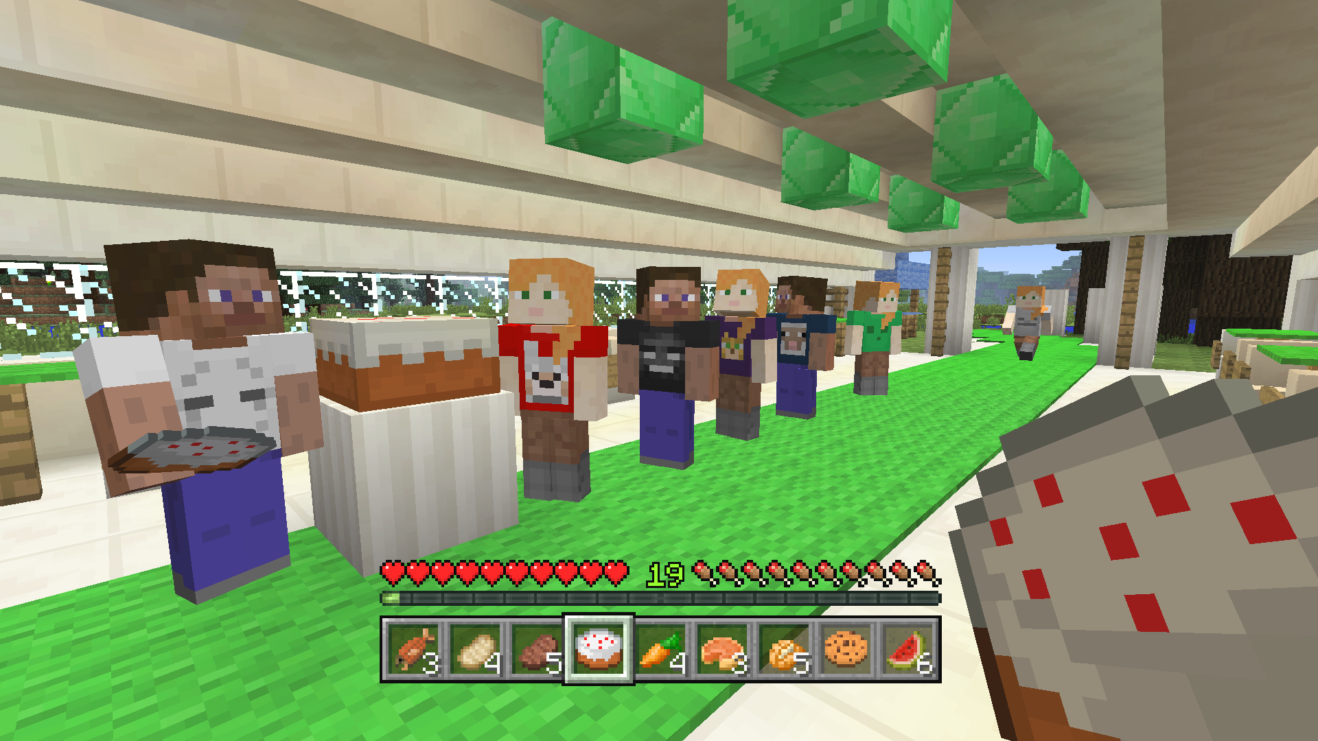 Minecraft Gives Away Its Four Birthday Skin Packs For Fourth