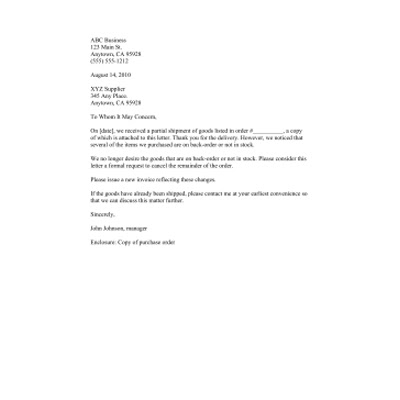Free Printable Business Forms, Letter Templates