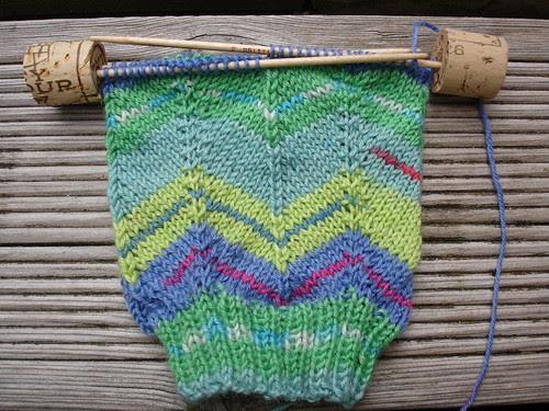need to knit Jaywalker WIP (1)