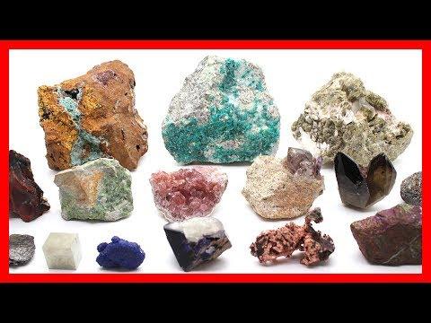 Coleccion de minerales de todo el mundo en 360º  - 39 ejemplares