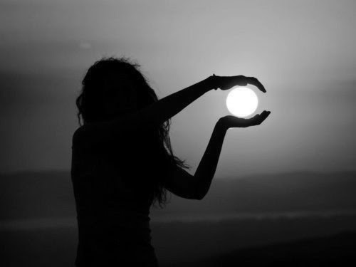 Wouldn't it be nice if we could hold light in our hands? Hold our hopes and dreams close to us. Let the darkness fade away, but keep the light close to our hearts. We can try.