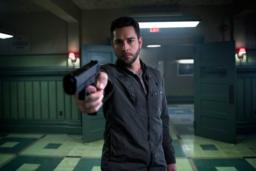 Zachary Levi in Heroes Reborn. (click to see more)