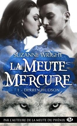 Couverture La meute Mercure, tome 1 : Derren Hudson