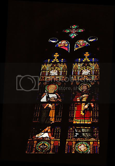 Barcelona Cathedral: Stained Glass Window