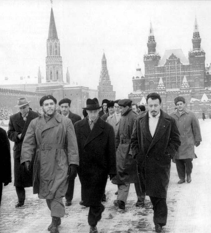 Ο Τσε στη Μόσχα το 1960