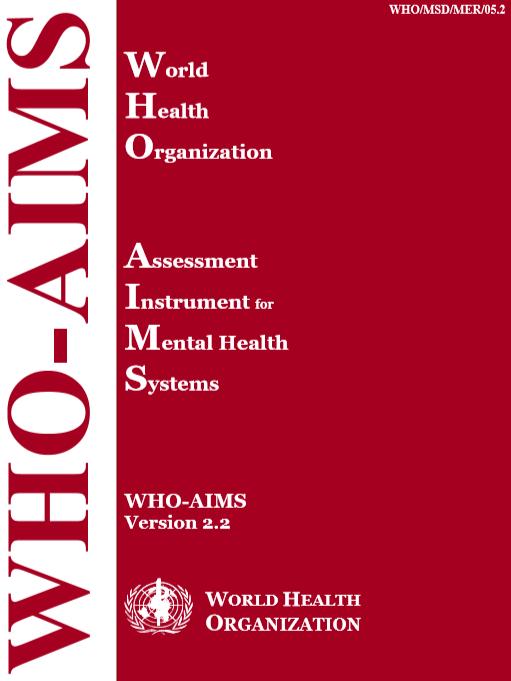 Who Emro Mental Health Assessment Tools Publications Mental Health