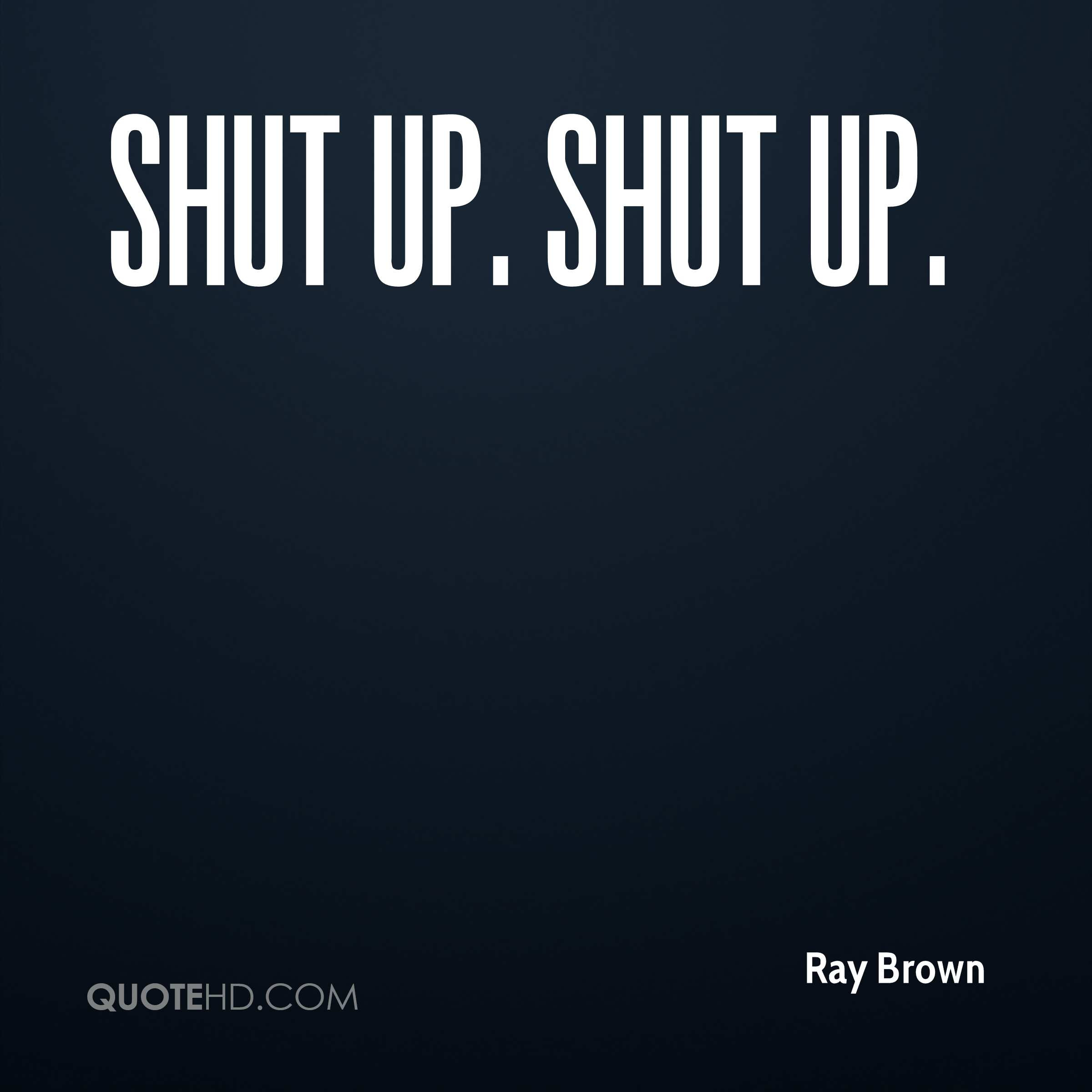 Ray Brown Quotes Quotehd