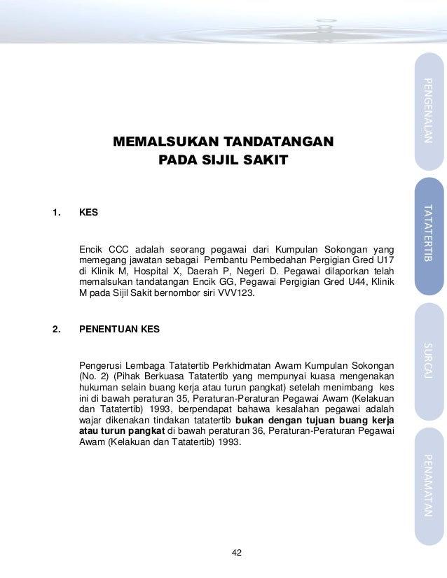 Contoh Surat Rasmi Rayuan Tindakan Tatatertib Surat R