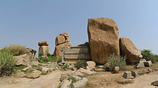 Rock Sculptures, Hampi