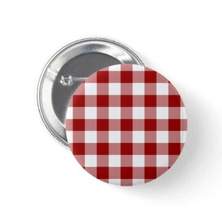 Red and White Gingham Pattern zazzle_button