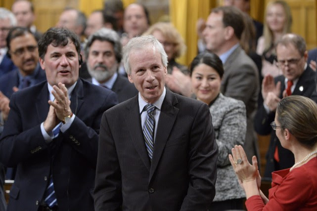 Stéphane Dion... (Photo Adrian Wyld, La Presse Canadienne)