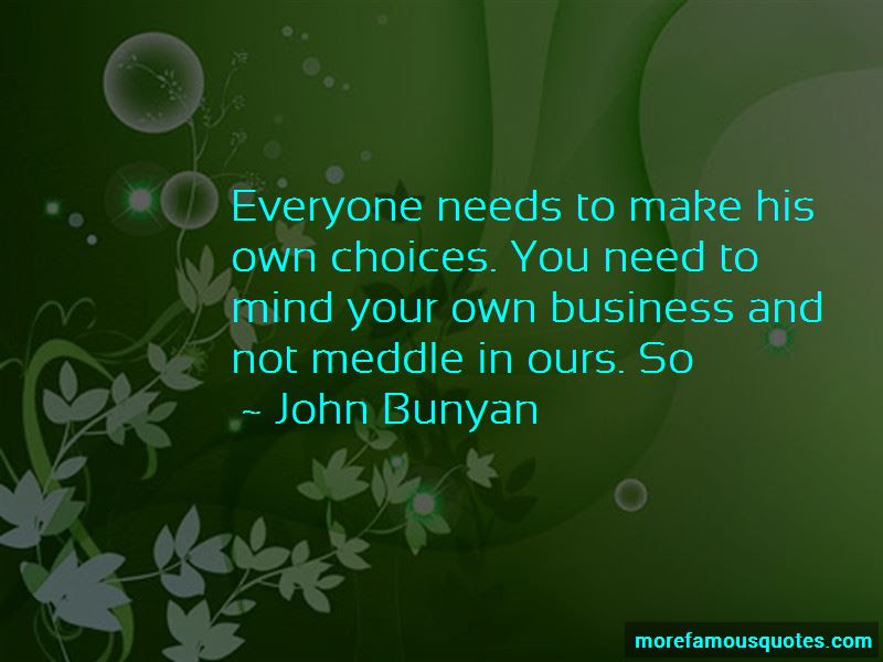 Quotes About Mind Your Own Business Top 41 Mind Your Own Business