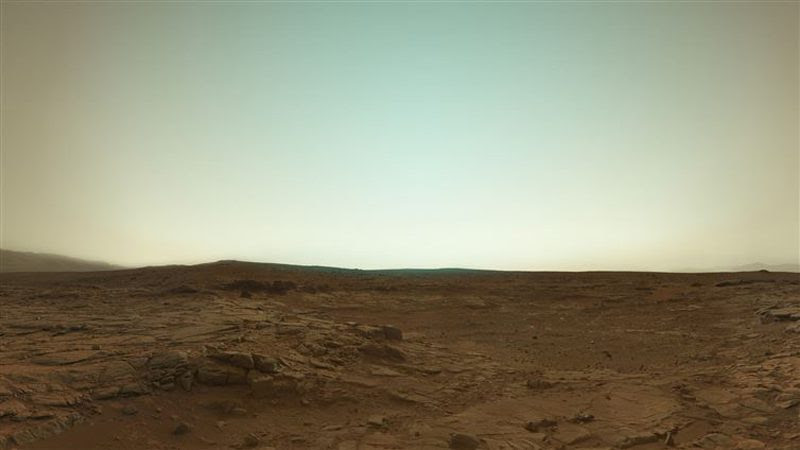 view                                                            from Mars