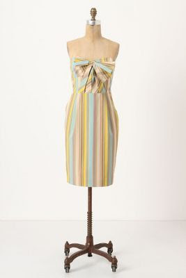 Anthropologie Straightaway Jacquard Mini Dress