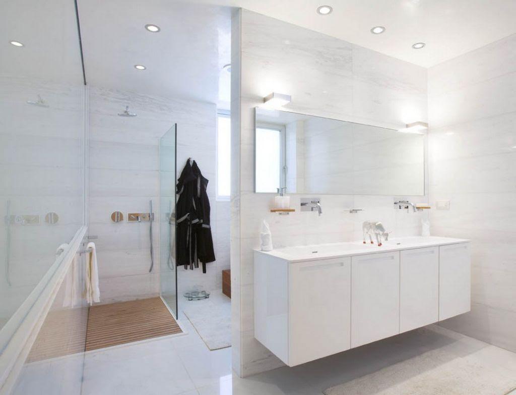 Modern Bathroom White House Home