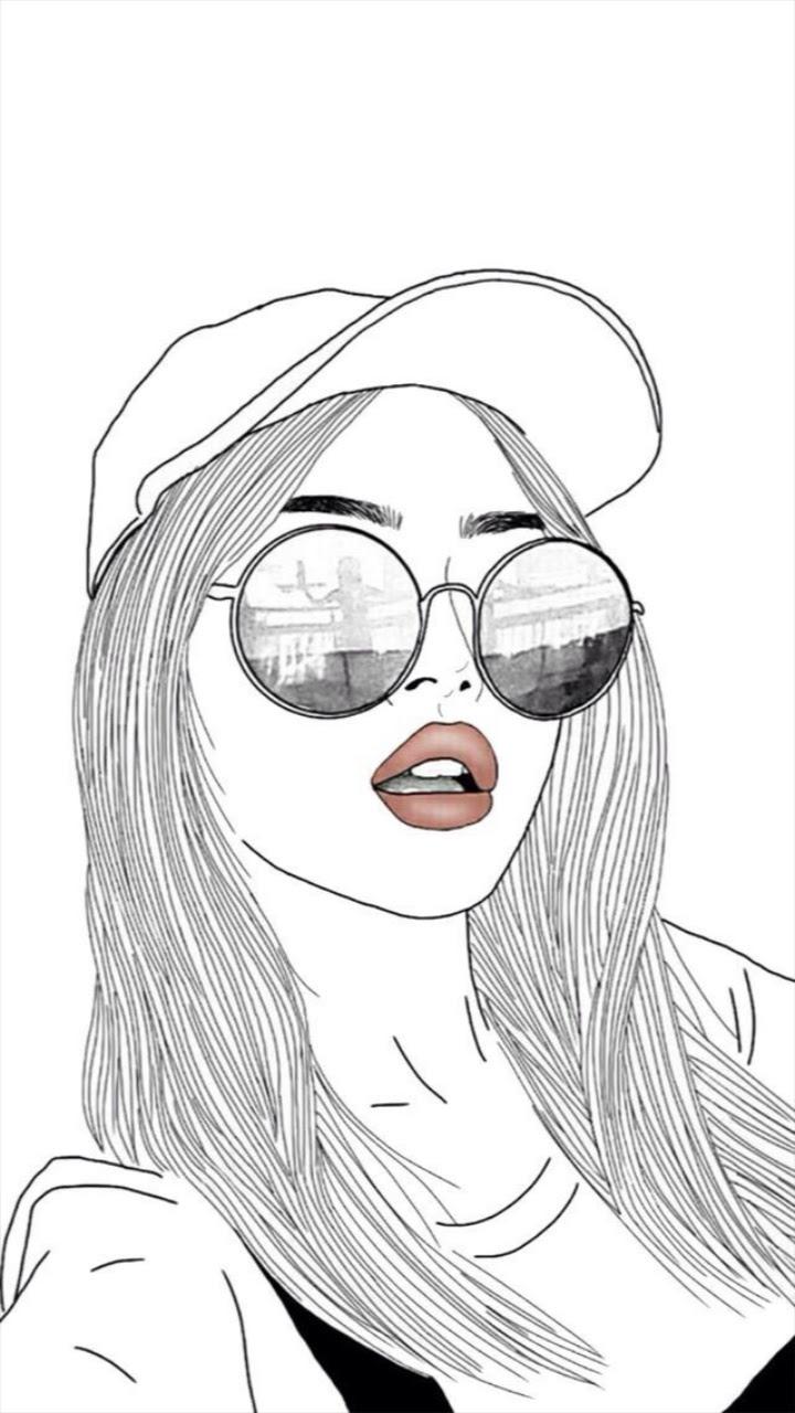 Girl Wallpaper Drawing