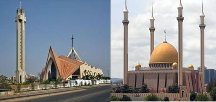 Image result for nigerian church and mosque