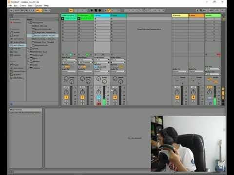Live Stream - Mengajar Rekaman Audio di  #Ableton #Live untuk Anak - Ana...