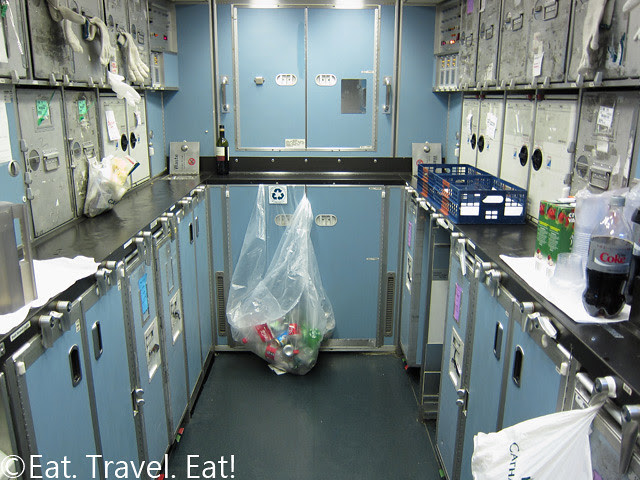 B-KPA CX 777-300ER Back Galley
