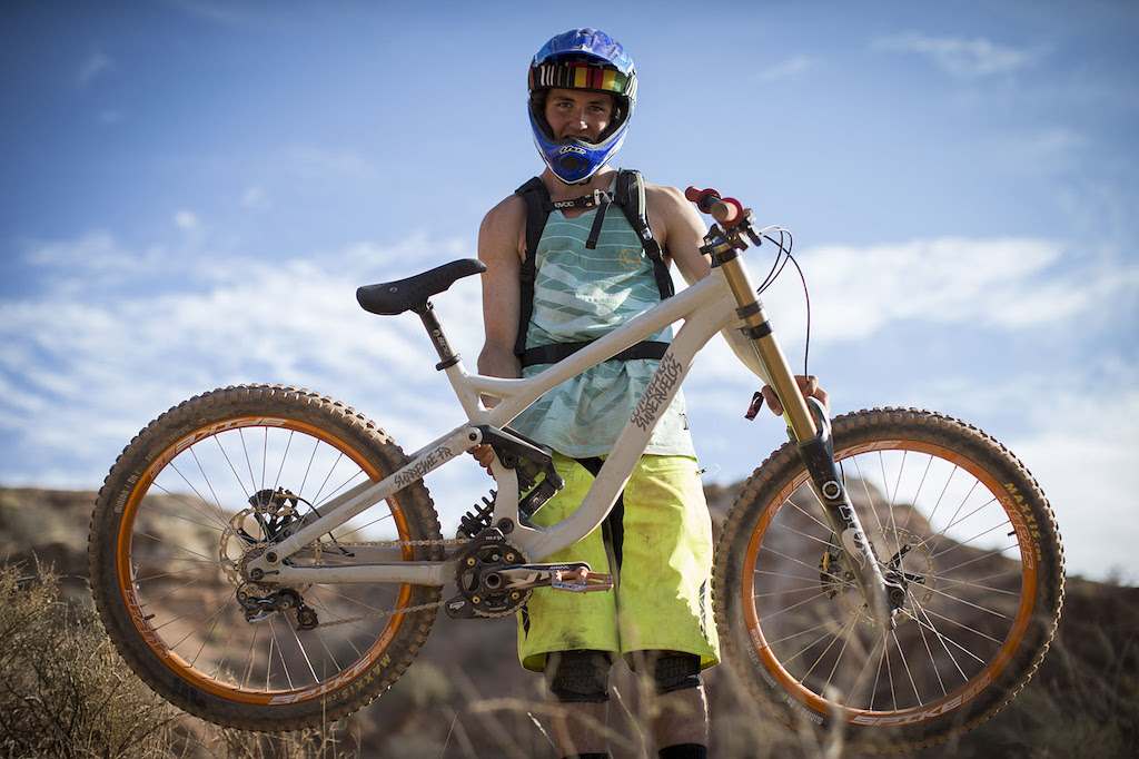Brendan Howey at Redbull Rampage 2012