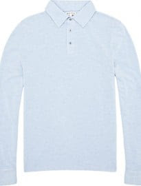 Reiss Paloma Long Sleeved Polo Shirt
