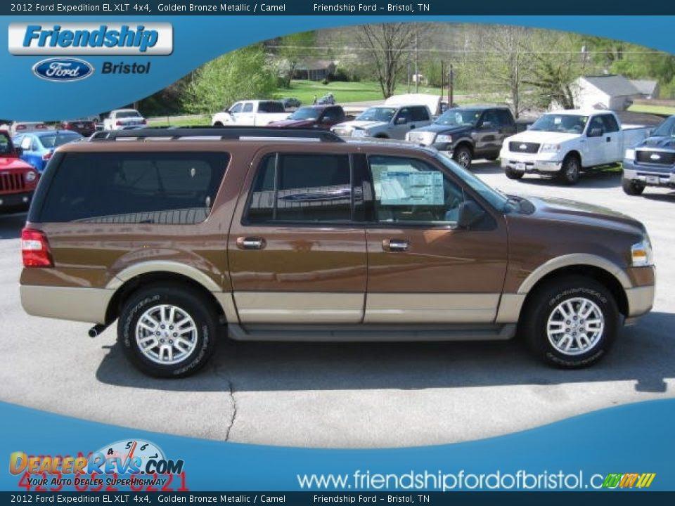 2012 Ford Expedition EL XLT 4x4 Golden Bronze Metallic ...