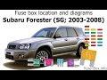 31+ 2007 Subaru Forester Fuse Diagram Pics