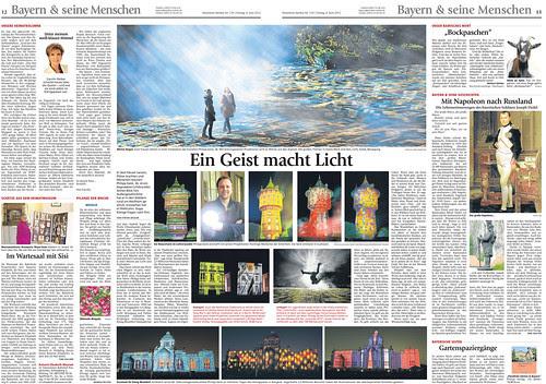 Presse: Münchner Merkur 08. Juni 2012 by PHILIPP GEIST