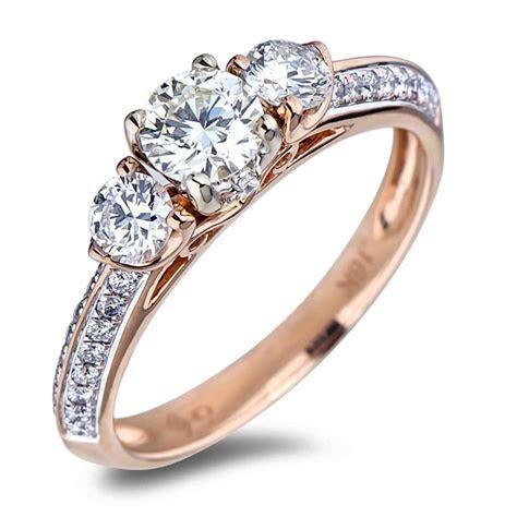 FOREVERMARK DIAMOND TRILOGY ENGAGEMENT RING   Lugaro