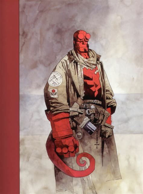 comics hellboy dark horse  wallpaper animals