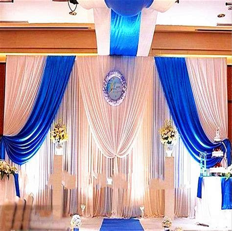Blue Wedding Backdrop