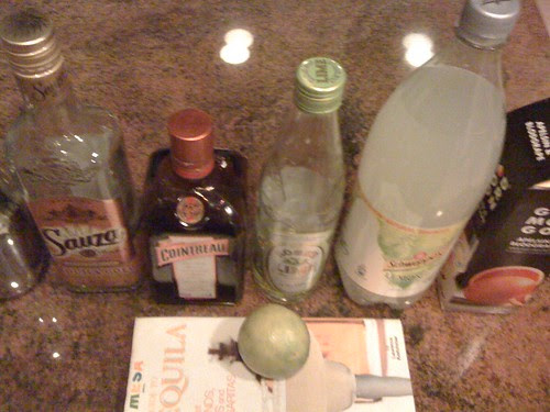 Margarita Ingredients