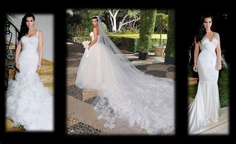 Kim Kardashian?s Wedding Dress Replica Dilemma   VAINCHIC