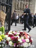 Una ceremonia en la catedral de Notre Dame recuerda a los ocupantes del AF 447.
