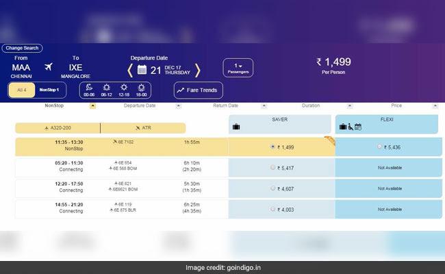 indigo bookings indigo website