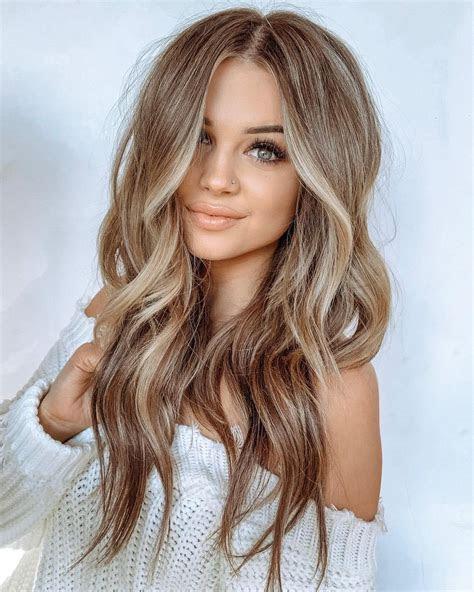 ideas  light brown hair  highlights