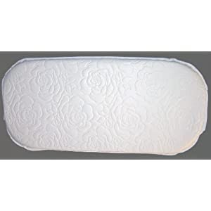 Bassinet Mattress Oval 15 X 30 X 2 Oval Replacement
