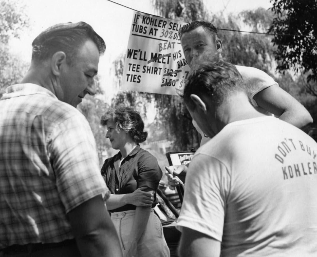Kohler strike in 1954