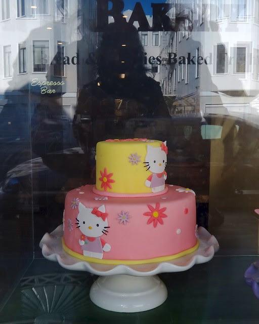 Hello Kitty Cake in San Francisco!