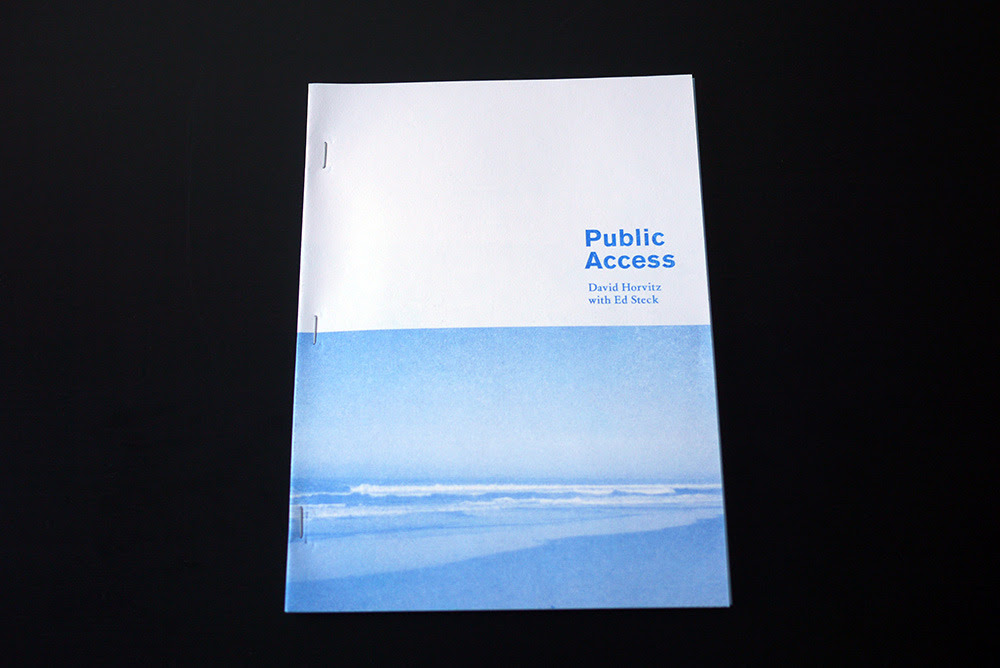 Horvitz, David. Public Access. Vancouver: 2012, 94 pages.