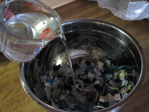 Recycling Paper Scraps 005