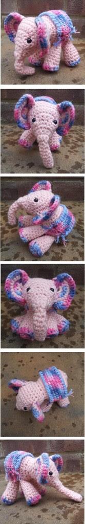 Meimei the Baby Elephant Crochet Pattern 166x1024 Meimei:  Free Baby Elephant Crochet Pattern