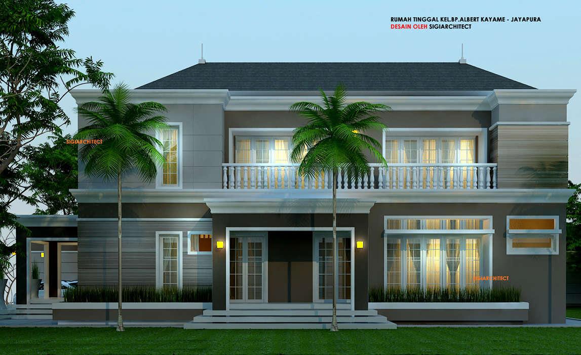 Desain Rumah Minimalis Di Pojok Dawn Hullender